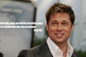 "Brad Pitt is the most attractive man in the world."" According to a ..."