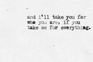 All the Same - Sick Puppies (Quote a song, expose your heart.)