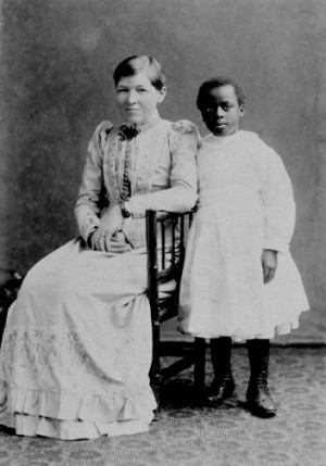 Mary Slessor and Janie photographed in 1891