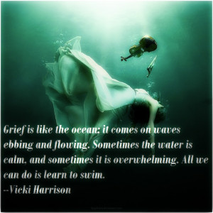 Coping with grief. Thanks @daniellousa