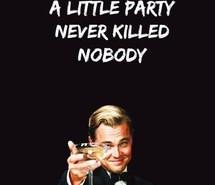 alcohol, black and white, great gatsby, leonardo dicaprio, love, party ...