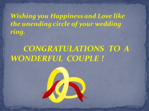 Wedding Wishes For Newly Married Couple Exandle And
