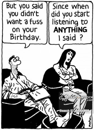 selective listening cartoons, selective listening cartoon, funny ...
