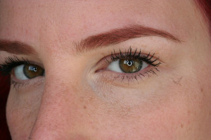This is a photo I took for a mascara review a few weeks ago. My brows ...