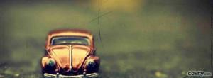 Volkswagen Beetle Toy facebook cover