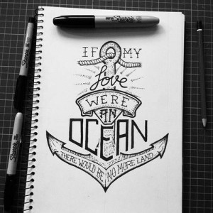 anchor with love quote