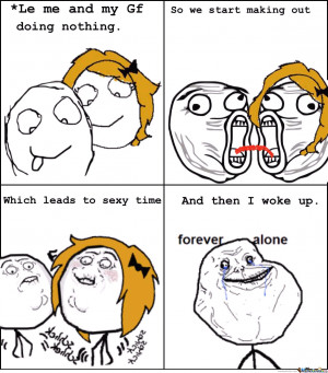Forever Alone Quotes Funny memes forever alone.