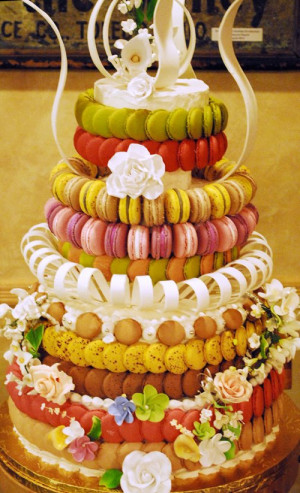 Wedding Day Macarons