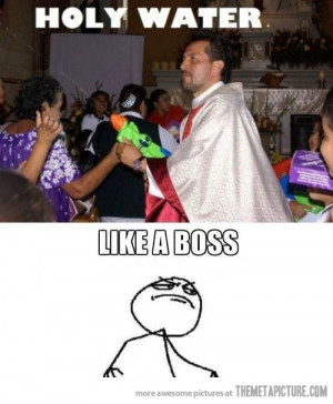 Funny photos funny priest water gun