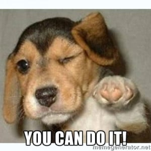 You Can Do It Meme Puppy (2)