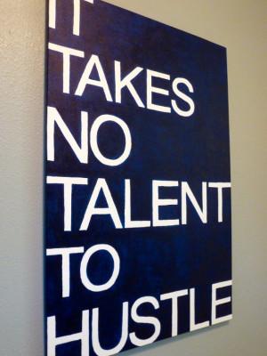Canvas Wall Art - Baseball Quote