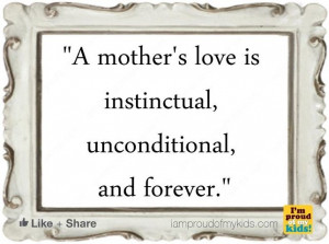 Unconditional Mother's Love
