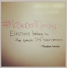 ... Election Day in Edmonton. Be sure to go vote! #motivation #quotes #