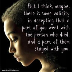 Quotes About Accepting The Death Of A Loved One ~ Quotes on Pinterest ...