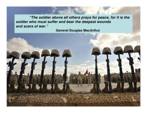 Soldier Quotes About War the soldier above all others