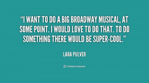 Broadway Musical Quotes