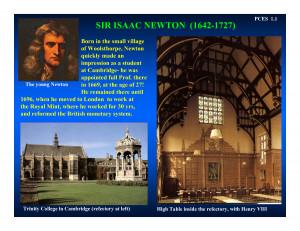 Sir Isaac Newton Quotes Sir isaac newton (1642-1727)