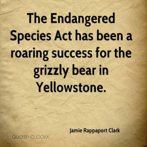 Endangered Quotes