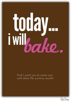 Cute Baking Quotes & Words