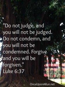 Luke 6:37, Luke, bible verses, judgment, forgive, inspirational quotes ...