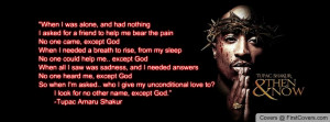 Tupac: About God Profile Facebook Covers