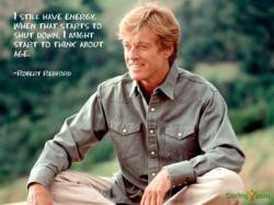 Robert Redford Encourages Consumers to Stay Healthy