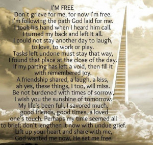 Miss You Daddy Quotes Poem....miss you mom and dad!
