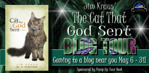 ... with Jim Kraus, author of Christian fiction 'The Cat That God Sent