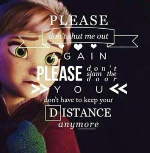 Dream Diary Frozen Quotes!