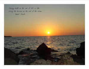 Sunset Sayings
