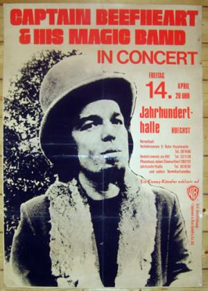 CAPTAIN BEEFHEART 1972 - Tourposter, 60 x 84 cm.JPG