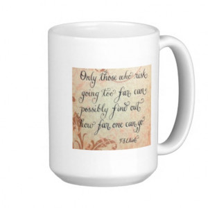 Inspirational quote calligraphy art coffee cup coffee mug