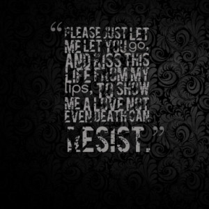 Quotes About: Motionless in white