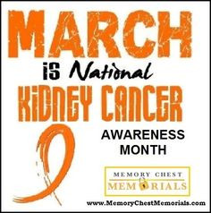 march is kidney cancer awareness month more kicks cancer cancer suck ...