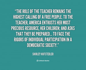 Quotes About the Importance of Teachers