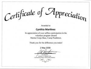 Certification of appreciation pastor Index of /