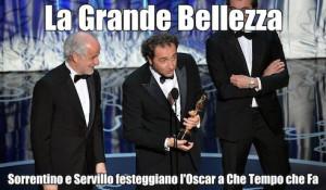 La Grande Bellezza: Sorrentino e Servillo festeggiano l'Oscar a Che ...