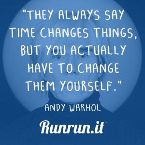 Inspiring quotes – Andy Warhol