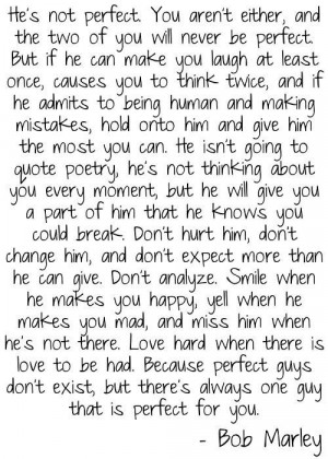 friday quotes: perfect man