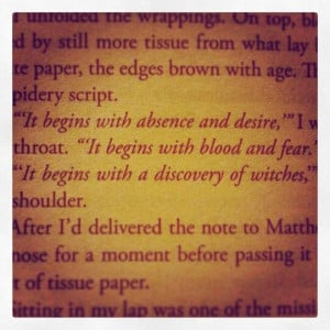 It begins with a discovery of witches... Deborah Harkness