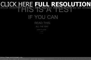 Love Quotes- This Is A Test If You Can Do This You Are Really Smart ...