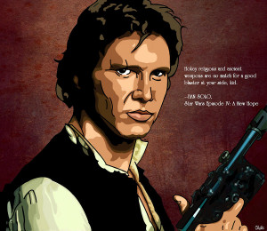 Han Solo Digital Art