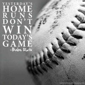 Baseball quotes, best, sayings, babe ruth, win
