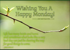 Monday Morning Positive Quotes