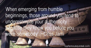 Quotes About Humble Beginnings Pictures