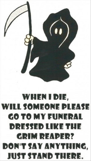 grim reaper, funny pictures