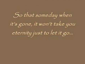 go of go and letting the past quotes