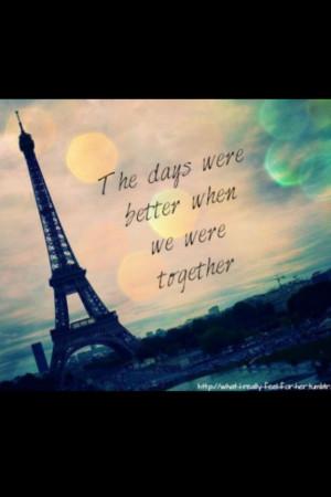 Paris quote #love