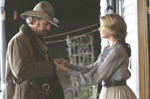 Kevin Costner and Annette Bening in Buena Vista Pictures' Open Range ...