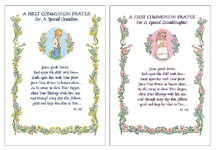 First Holy Communion and First Confession Greeting Cards